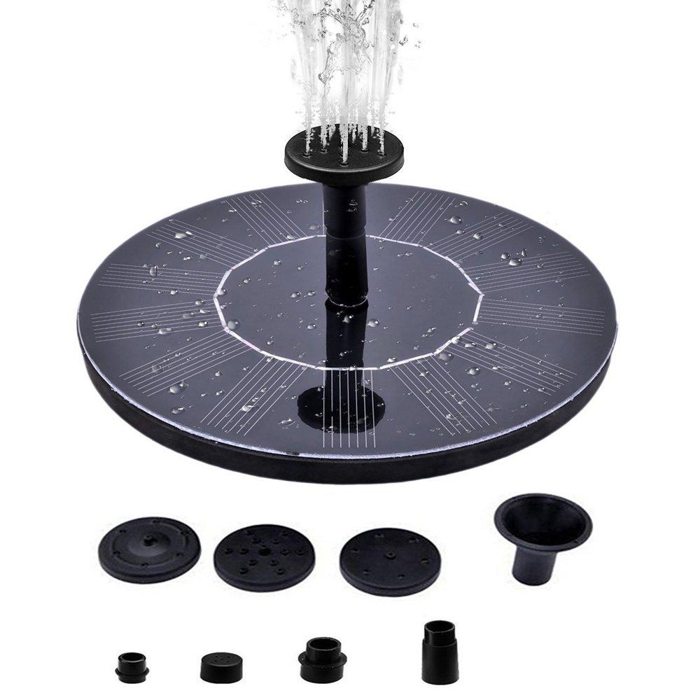 Supmovo Solar Birdbath Fountain