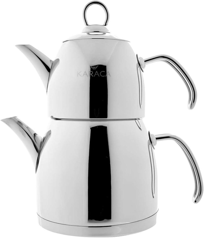 KARACA Venus Kleiner Teekocher Metallic