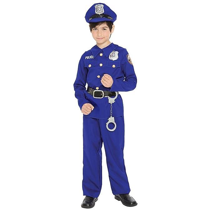 Amazon.com: Morris Costumes Baby-Boys agente de policía ...