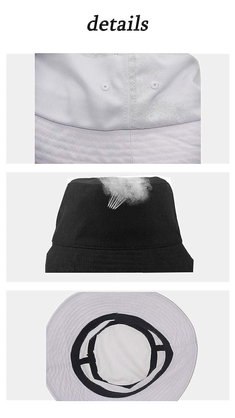 Travel Bucket Hats Wide Brim Sun Cap Boonie Cap Trucker Hat for Sports Camping