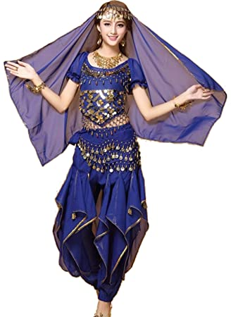 SMACO FaldasIndio Bollywood Dama Danza del Vientre Ropa Mujer ...