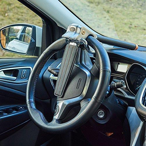 Blueshyhall Auto Car Anti Theft Security Car Steering Wheel Lock (BLACK) by Blueshyhall (Image #4)'