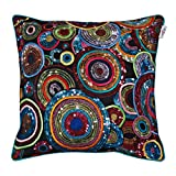 UNOVISTA HOME Concentric Circle Embroidered Cushion