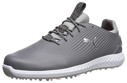 49d62a0521c74e PUMA Golf Men s Ignite Pwradapt Leather Golf Shoe