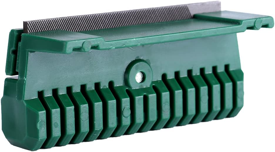 Zerodis Guida per catene a maglie universali Guida per rastrelliere da bar con attrezzo da giardino 11cmx6cmx4cm