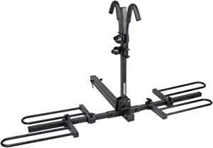 """Venzo 2 Bike Bicycle Platform Style Carrier - Bike Rack for Car SUV Truck Tow Trailer Hitch Receiver Mount Size 2"""" - Sturdy & Rust Proof"""