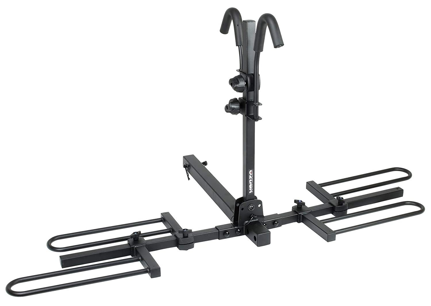 Venzo 2-4 Bike Bicycle Platform Style Carrier – Bike Rack for Car SUV Truck Tow Trailer Hitch Receiver Mount Size 2 or 1.25 – Sturdy Rust Proof