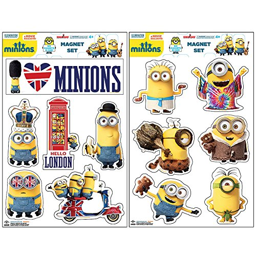 Minions Movie Mania - Despicable Me Character Invasion Vinyl Magnet -