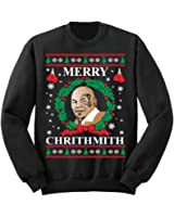 fresh tees Mike Tyson Merry Chrithmith Ugly Christmas Sweater Holiday Sweatshirt