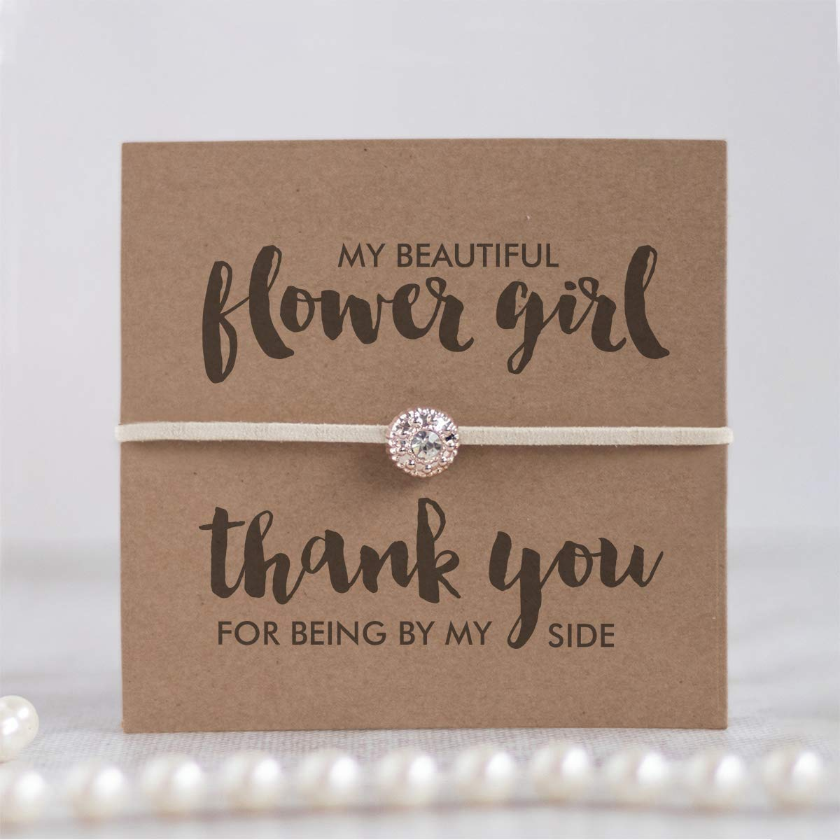 Onepurposegifts Flower Girl Proposal Flower Girl Gifts Flower Girl Necklace Flower Girl Jewelry