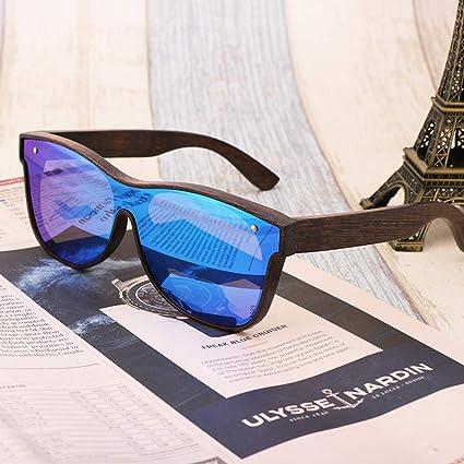 Amazon.com: Gafas de sol de madera de bambú, GH-PH Classic ...