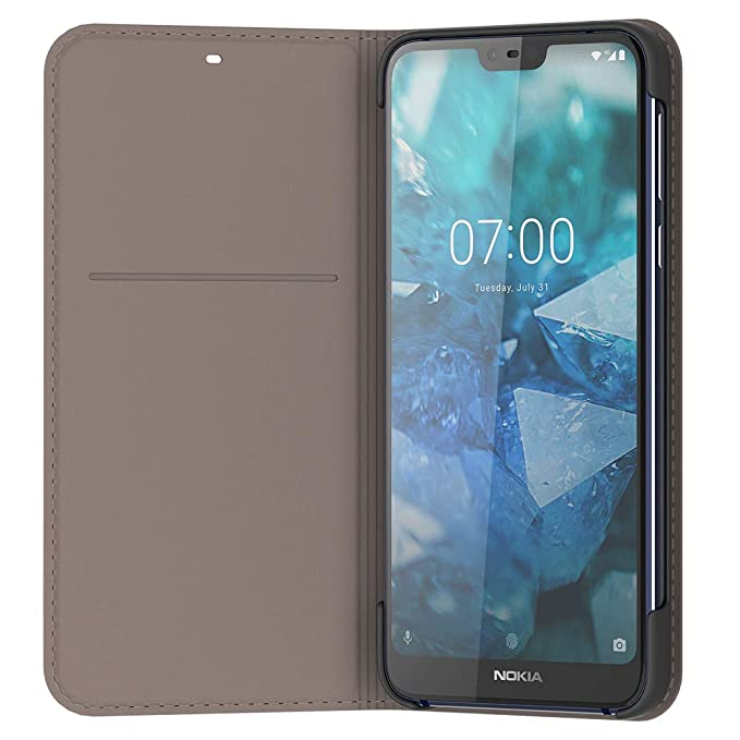 watch 102de aecdf Nokia 7.1 Entertainment Flip Cover - Grey