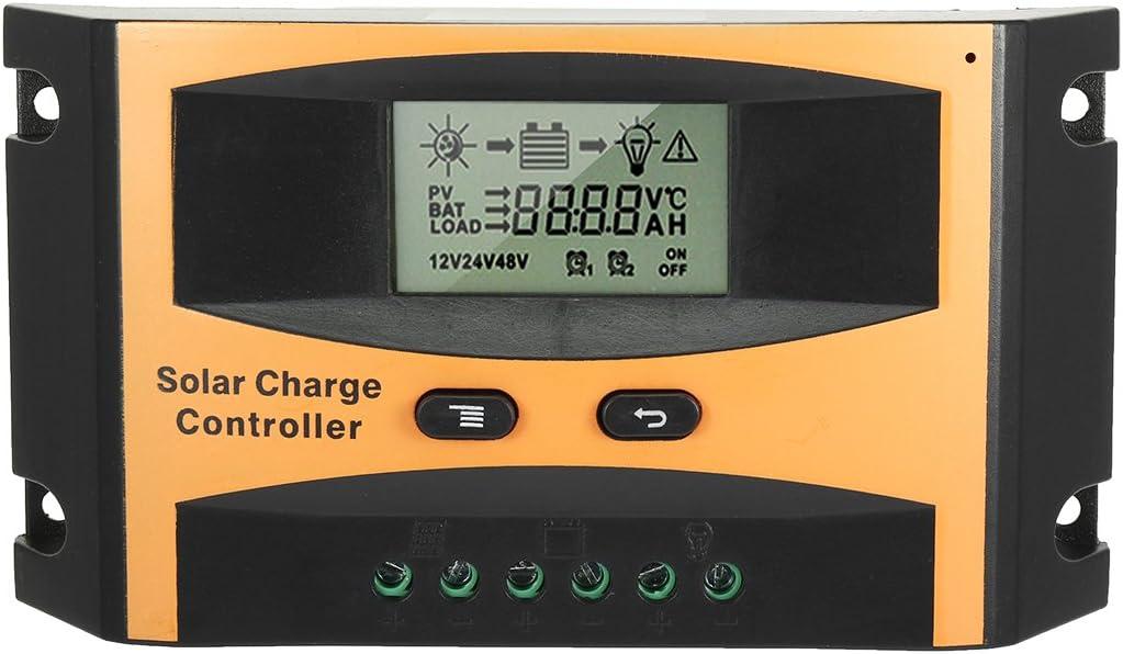 uxcell Intelligent 10A Solar Panel Charge Controller 12V-24V Battery Regulator PV2410