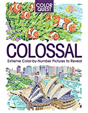 Color Quest: Colossal: The Ultimate Color-by-Number Challenge