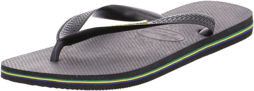 Havaianas Brasil Logo, Chanclas Unisex para Niños: Havaianas: Amazon.es: Zapatos y complementos