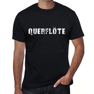 One In The City Querflote Herren T Shirt Schwarz Geburtstag Geschenk