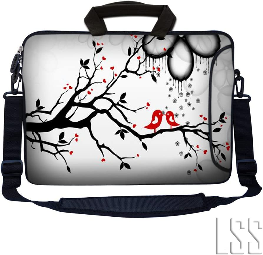 """LSS 17-17.3"""" Laptop Sleeve Bag Compatible with Acer, Asus, Dell, HP, Sony, MacBook and More 