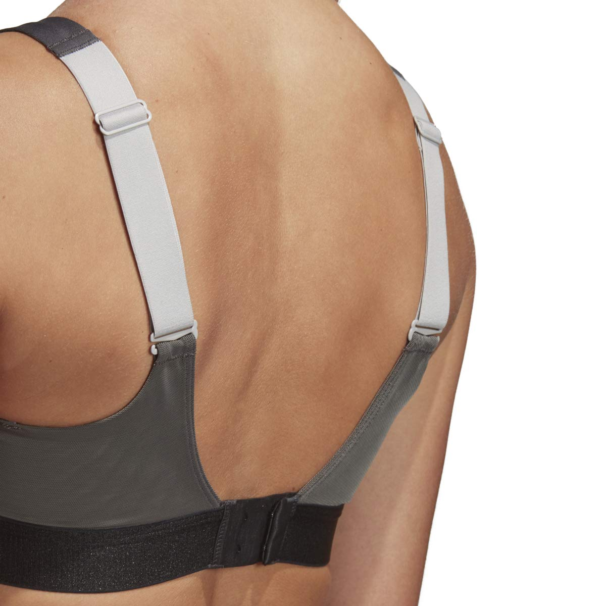adidas Stronger for IT Soft Bra, Grey, 30B