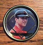 1990 Topps Cal Ripken, Jr., Baltimore Orioles Metallic Coin