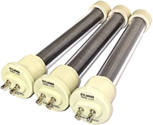 3 Pack Original Sylvania 1500W EdenPURE GEN4 Heater Bulbs / Element Kit