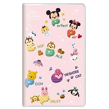 October 2017 To January 2019 Calendar Disney Tsum Tsum 2018 Monthly Planner Notebook slim type 49066