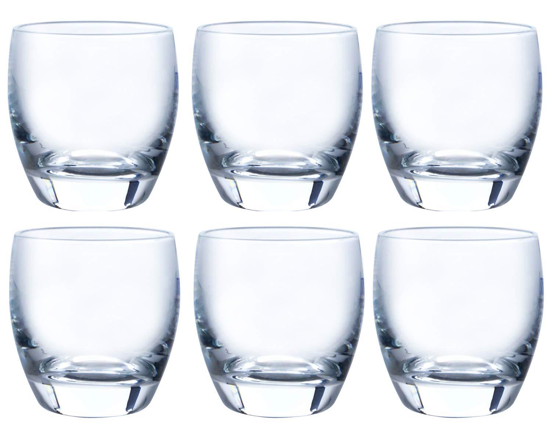 Goblet Shuhai cold sake glass 95ml ¡Ñ 6 piece set T-16108-JAN