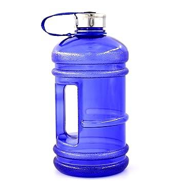 RBHT Botella de Agua de Verano, Botella de plástico Verde, Gimnasio, Botella de Deporte Portátil de Gran Capacidad.: Amazon.es: Deportes y aire libre