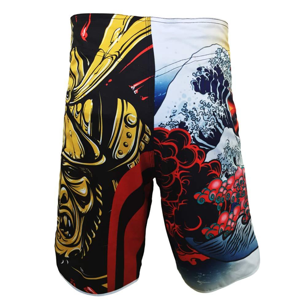 frikimanes Pantalones Cortos Shorts Ideales MMA K-1 Kick Boxing Boxeo Crossfit etc.
