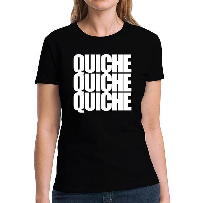 Eddany Quiche three words Camiseta Mujer