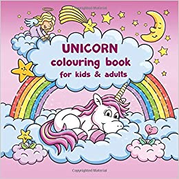 Unicorn colouring book for kids and adults + BONUS free Unicorn ...