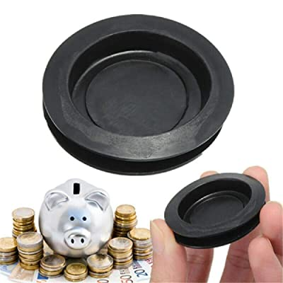 Balance World Inc Rubber Money Saving Box Piggy Bank Closure Plug Stopper Cover OD:43mm ID:33mm: Toys & Games