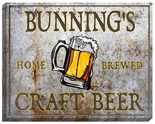 bunnings-craft-beer-stretched-canvas-sign-16-x-20