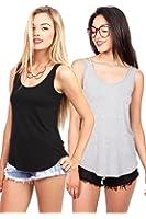 Emmas Closet Bundle Pack Women's Basic Stretchy Tank Top