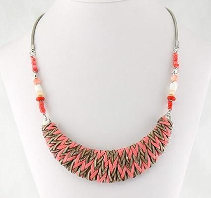 various styles quality order Buyzen Bijoux Collier synthétique-métal-Nacre-Cristal-Perles ...