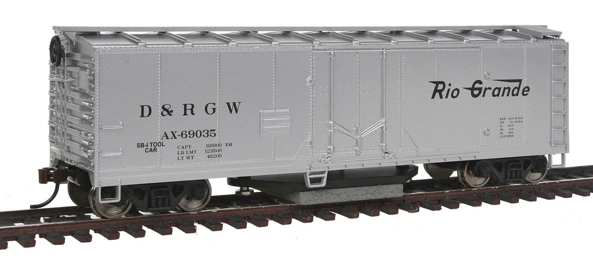Walthers Trainline Track DRGW Cleaning Car