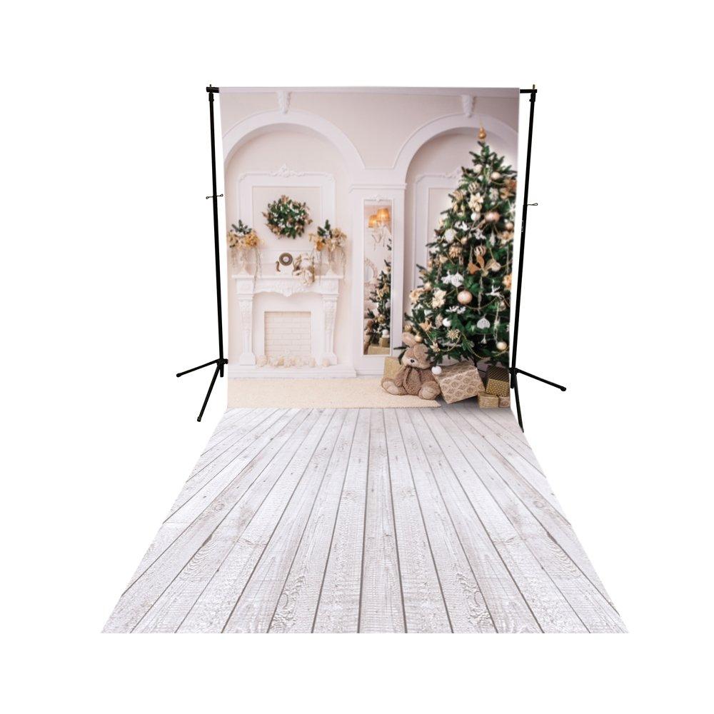 クラシッククリスマスPrinted backdrop – Poly用紙5 ft x 7 ft   B077MYP43W
