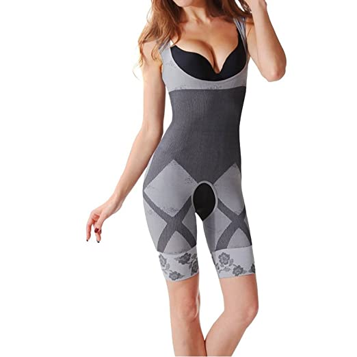 4c4c1eaaa9c InnoGene Women s Bamboo Charcoal Waist Cincher Body Shapewear at ...