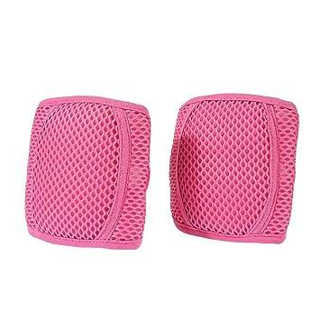 YouCY - Rodilleras de malla transpirable ajustables para niños y ...