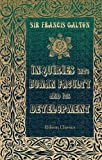Inquiries into Human Faculty and Its Development, Galton, Francis, 140218512X