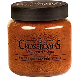 product image for Crossroads Candle 16 Ounce Jar Candle - Buttered Maple Syrup