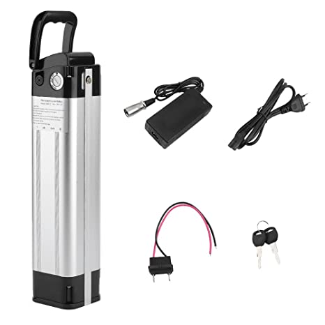 Li-ion Akku Batterie mit Ladegerät für E-bike Fahrradakku Pedelec 24V 15Ah 360Wh