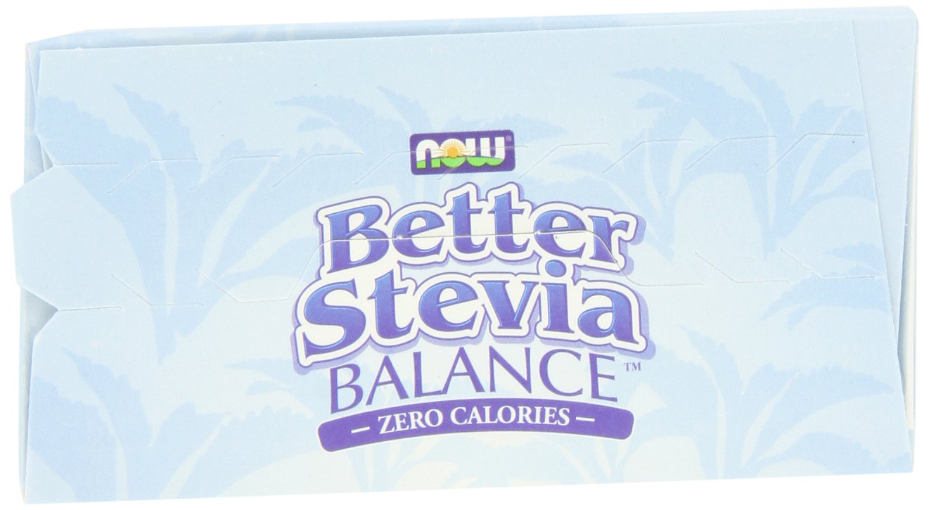 NOW Foods Stevia Balance,100 Packets (Pack of 3)