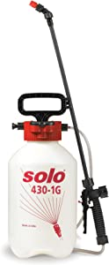 Solo 430-1G 1-Gallon Handheld Farm and Garden Sprayer, with Shut-off Valve and Unbreakable Wand