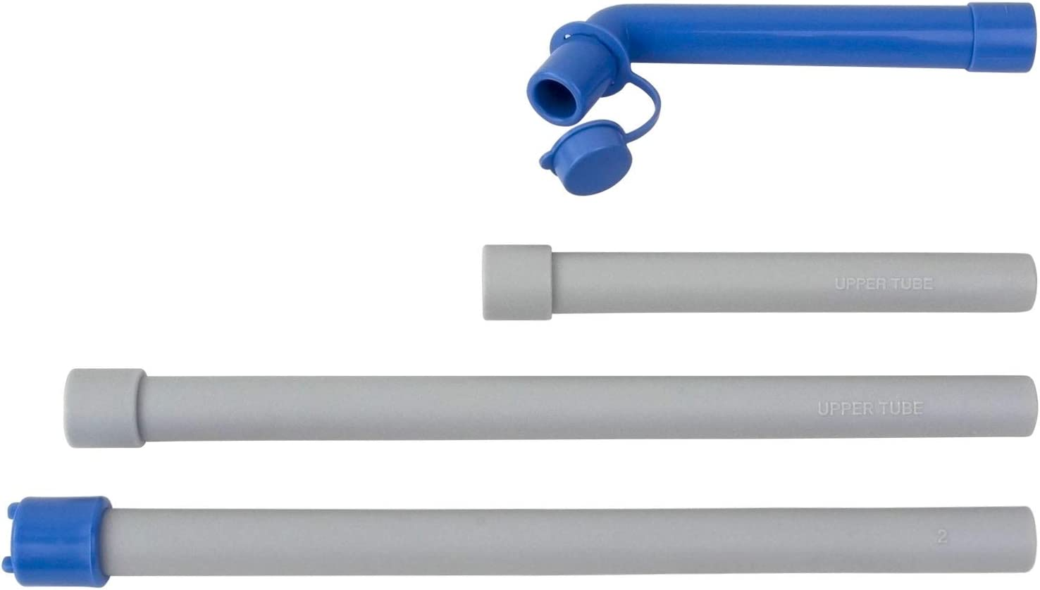 Replaecment - Accessories Bundle (Long Upper Tube/Short Upper Tube/Lower Tube/Spout with Cap) for the Original Manual Drinking Water Pump