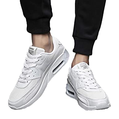 3d5591b4c19be Beikoard-scarpa Uomo Scarpe da Running da Uomo Casual a Punta Rotonda  Sneakers Antiscivolo Traspiranti(