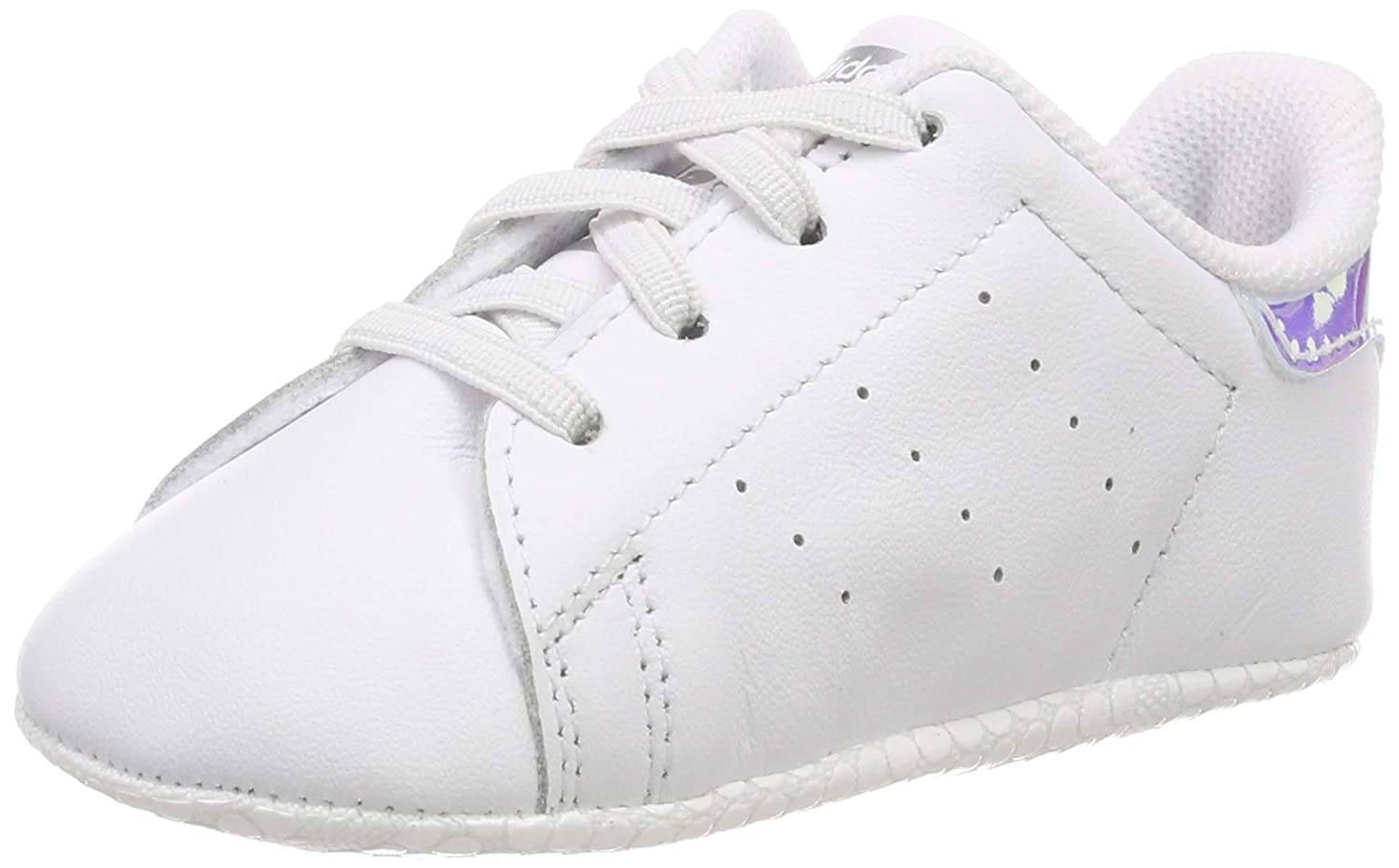 competitive price bd491 b1b53 adidas Unisex Babies' Stan Smith Crib Gymnastics Shoes