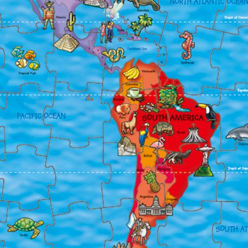 Orchard toys world map jigsaw puzzle and poster amazon orchard toys world map jigsaw puzzle and poster amazon toys games gumiabroncs Image collections