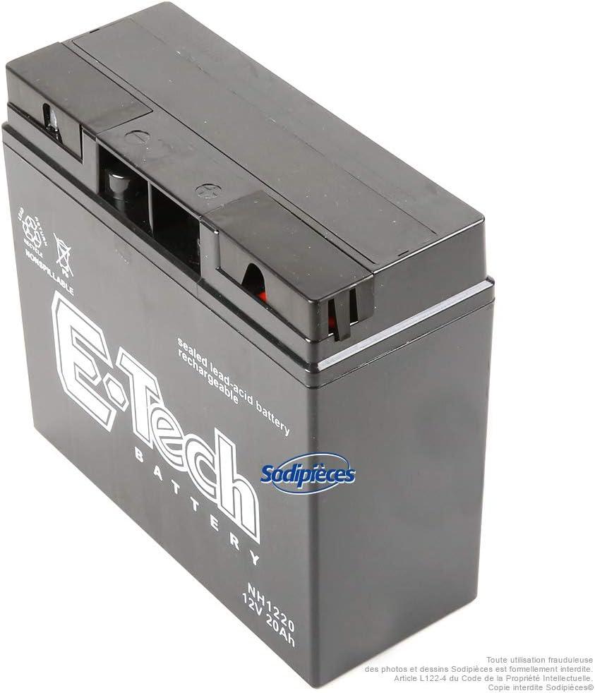 E-Tech Batterie gel 12/V 18/Ah