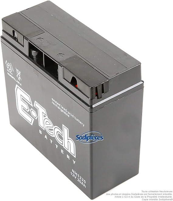 PATONA Premium AGM 12V 9Ah bater/ía de Plomo VRLA Sin Mantenimiento 1800 ciclos