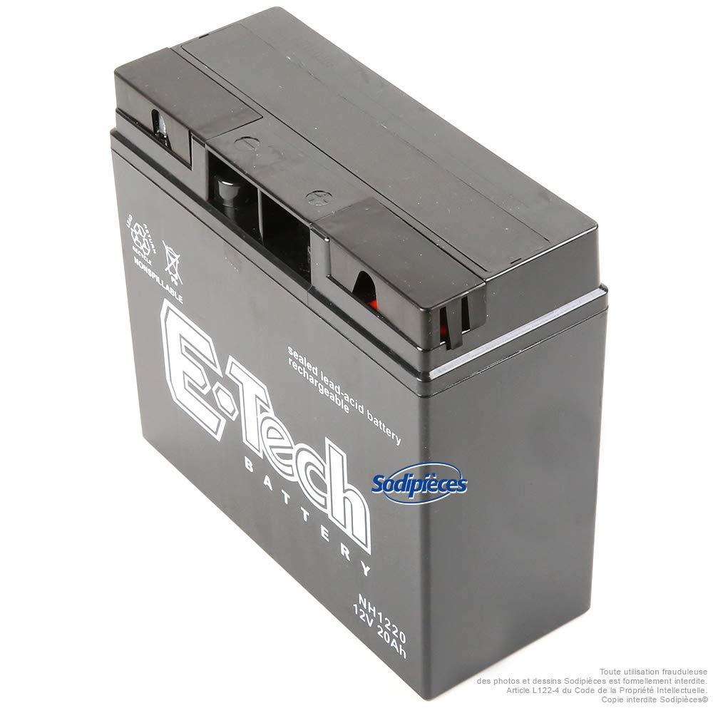 Batteria a gel 18 Ah 12 V E-Tech